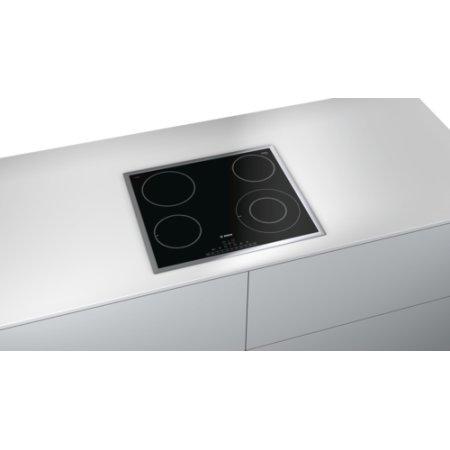 Bosch PKF645FP1 Черный, Электрическая, Стеклокерамика