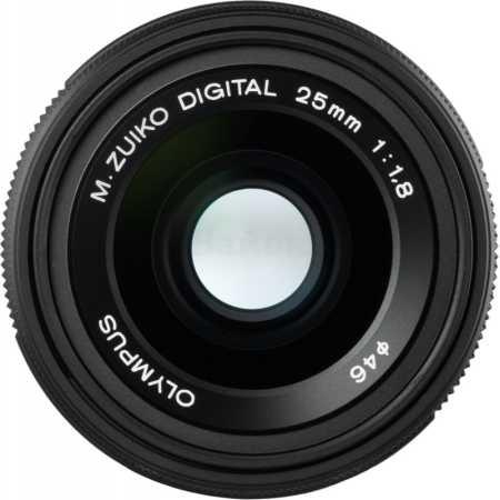 Объектив 25mm 1:1.8 / ES-M2518 M.Zuiko Digital черный Широкоугольный, Micro 4/3