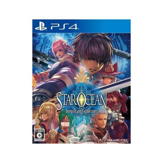 Star Ocean V. Integrity and Faithlessnes Специальное издание, Sony PlayStation 4, ролевая, боевик