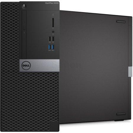 Dell Optiplex 5040-2600 MT Intel Core i7, 3400МГц, 8Гб RAM, 500Гб, Win 7 Pro, Черный