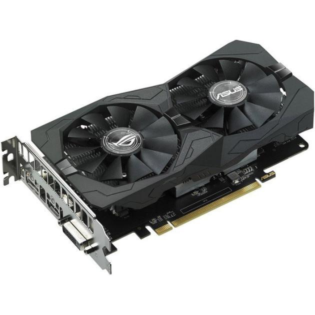 Asus AMD Radeon RX 460 STRIX GAMING 4096Мб, GDDR5,1236MHz, STRIX-RX460-O4G-GAMING