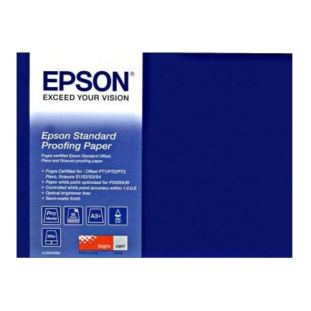 Epson Standard Proofing Paper 205 A2 Фотобумага, A2, 50, матовая