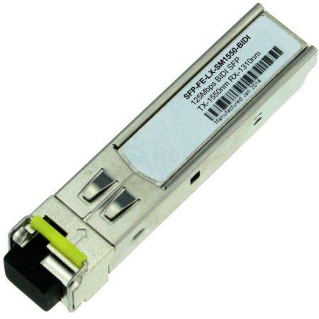 Huawei BiDi transceiver,eSFP,Tx1550nm/Rx1310nm,155M,-15dBm,-8dBm,-32dBm,LC/PC,SM,15km (SFP-FE-LX-SM1550-BIDI)