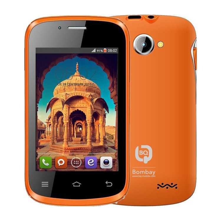 BQ BQS-3503 Bombay 0.512Гб, Оранжевый, Dual SIM