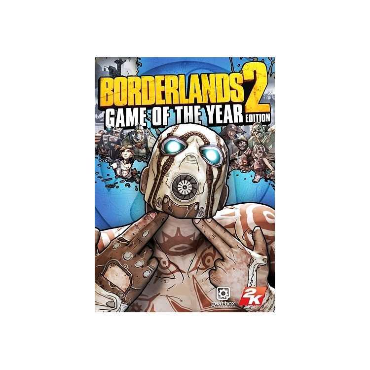Borderlands 2: Game of the Year Edition PC, электронный ключ, специальное издание, Английский язык