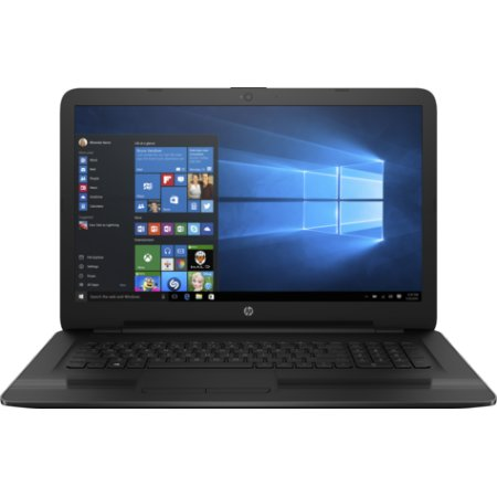 "HP 17-x022ur 17.3"", Intel Pentium, 1600МГц, 4Гб RAM, DVD-RW, 500Гб, Черный, Wi-Fi, Windows 10 Домашняя, Bluetooth"