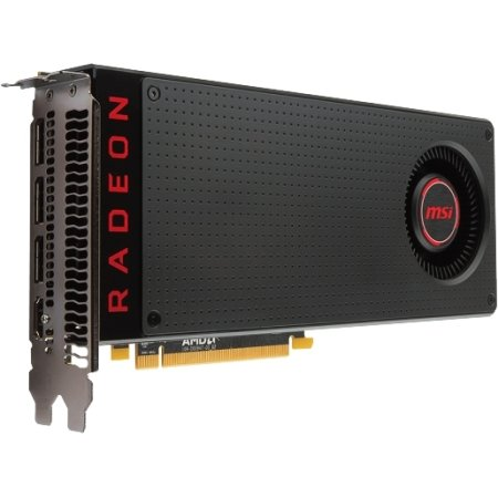 MSI Radeon RX 480 PCI-E 16x 3.0, 8192Мб, GDDR5