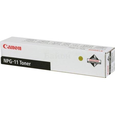 Canon NPG-11 Черный, Тонер-картридж, Стандартная, нет