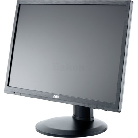 "AOC e2460Pda 24"", Черный, DVI, Full HD"