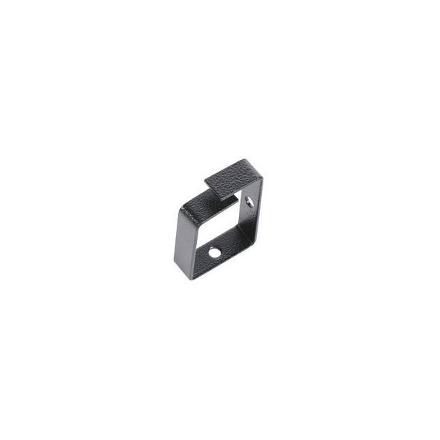 ЦМО Органайзер кабельный одинарный 65x45 мм, цвет черный