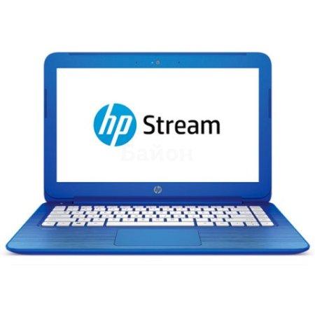 "HP Stream 13 13-c100ur 13.3 13.3"", Intel Celeron, 1600МГц, 2Гб RAM, 320Гб, Голубой, Wi-Fi, Windows 10, Bluetooth"