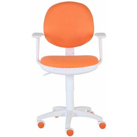 Кресло Бюрократ CH-W356AXSN/15-75 оранжевый 15-75 пластик белый