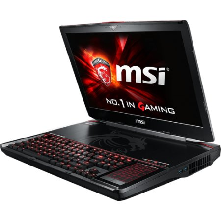"MSI GT80S Titan SLI 6QE-296RU 18.4"", Intel Core i7, 2700МГц, 16Гб RAM, DVD нет, 1Тб, Черный, Wi-Fi, Windows 10, Bluetooth"