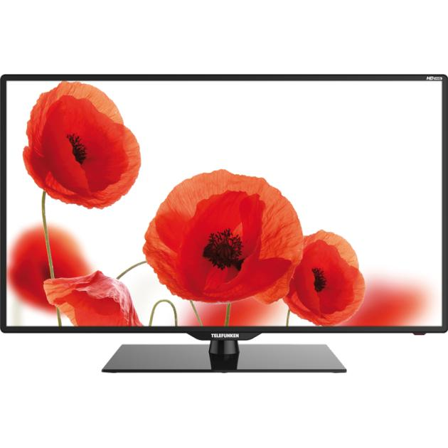 Telefunken TF-LED39S6T2 39, Черный, 1366x768, Нет, Вход HDMIТелевизоры<br>Тип ЖК , Разрешение 1366x768 , HD-формат 720p HD , Вход HDMI, Формат телевизора 16:9 , Гарантия фирмы производителя 1 г...<br><br>Артикул: 1265603<br>Специальные предложения: Новинка<br>Производитель: Telefunken<br>Тип: ЖК<br>Цвет: Черный<br>Диагональ: 39  (99.1 см)<br>Разрешение: 1366x768<br>Формат телевизора: 16:9<br>HD-формат: 720p HD<br>Гарантия фирмы производителя: 1 г.<br>Smart TV (доступ в интернет): Нет<br>Поддержка 3D: Нет<br>Вход HDMI: Да<br>Поддержка Wi-Fi: Нет