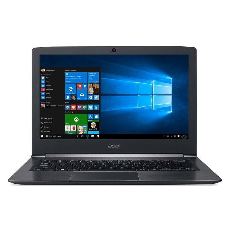 "Acer Aspire S5-371-59PM 13.3"", Intel Core i5, 2300МГц, 4Гб RAM, DVD нет, 128Гб, Wi-Fi, Windows 10 Домашняя"