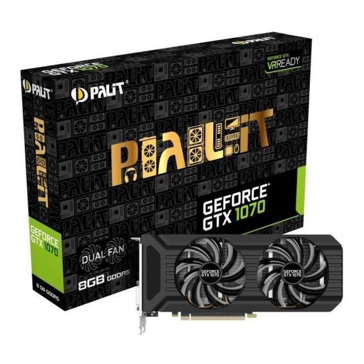 Palit GTX 1070 GameRock-8192Мб, GDDR5, 1556MHz, PCI-Ex16 3.0 + G-PANEL