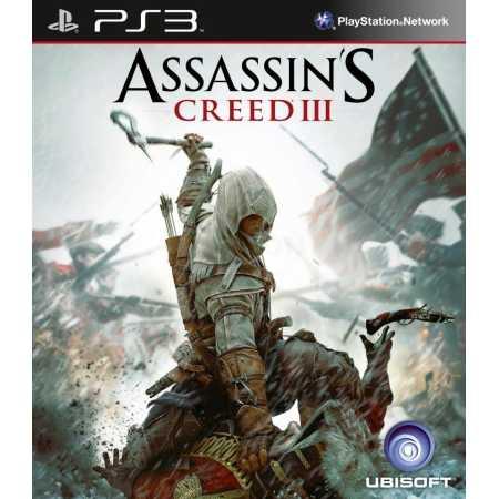 Assassin's Creed III Русский язык, Sony PlayStation 3, приключения, боевик