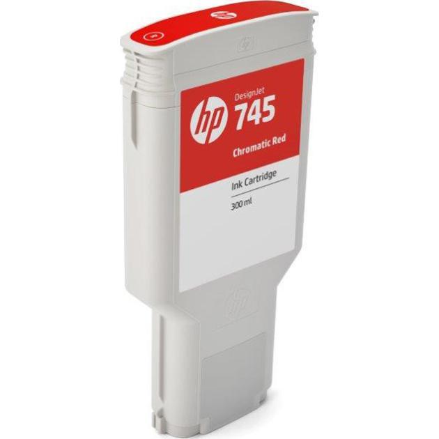 HP 745 Хроматический красный, Картридж струйный, Повышенная, нет