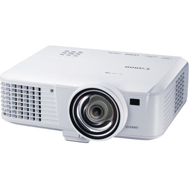 Canon LV-X310ST портативный, Белый портативный, Белый