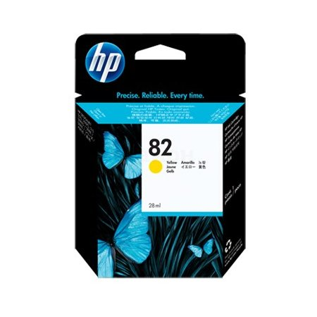 HP Inc. Cartridge HP 82 DsgJ 500/510, жёлтый (28 мл)