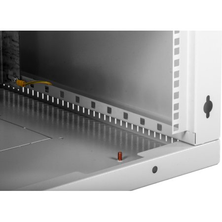 ЦМО Шкаф телекоммуникационный настенный разборный 18U (600х350) дверь стекло, [ ШРН-Э-18.350 ]