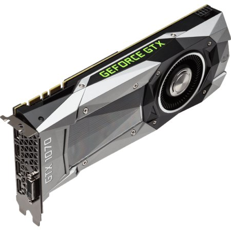 Gigabyte GeForce GTX 1070 Founders Edition 8192Мб, GDDR5, 1506MHz, GV-N1070D5-8GD-B
