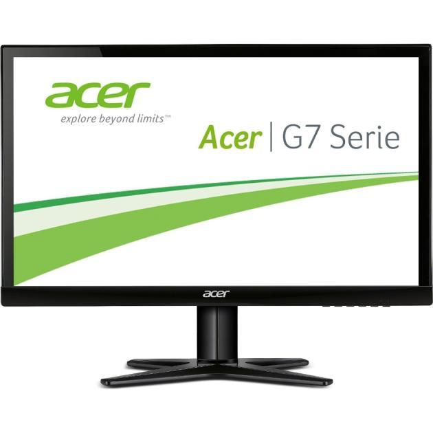 Acer G247HYLbidx 23.8, Черный, DVI, HDMI, Full HD