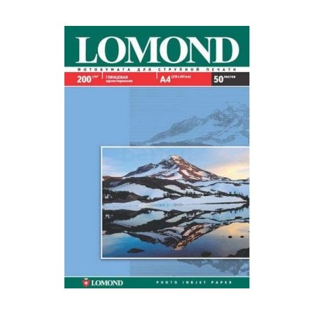 Lomond Photo Paper 102022 Фотобумага, A4, Рулон, 50