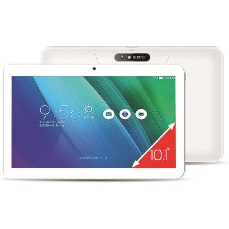 """Ginzzu GT-1020, 10,1"""", 16Gb, Wi-Fi+3G/LTE, Wi-Fi и 3G/ LTE, Белый, Wi-Fi, 16Гб"""