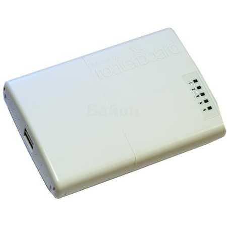 Mikrotik RB750P-PB Белый, 300Мбит/с, 2.4