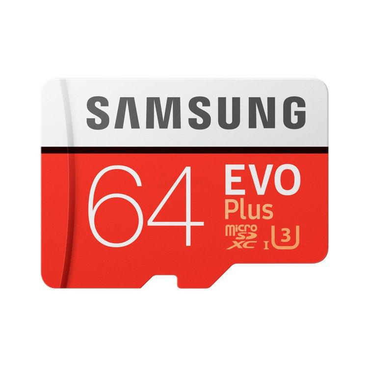 Купить Samsung EVO Plus MB-MC64GA в интернет магазине бытовой техники и электроники