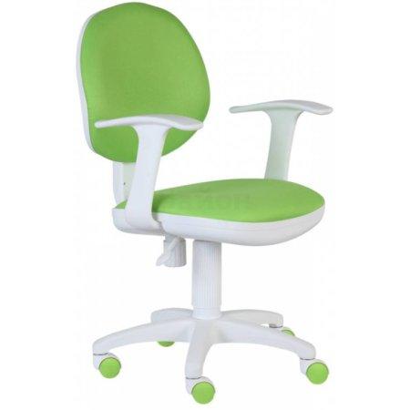 Кресло Бюрократ CH-W356AXSN/15-118 салатовый 15-118 пластик белый