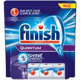 Средство для мытья посуды для посудомоечных машин Finish Quantum 3018749 (упак: 40шт)