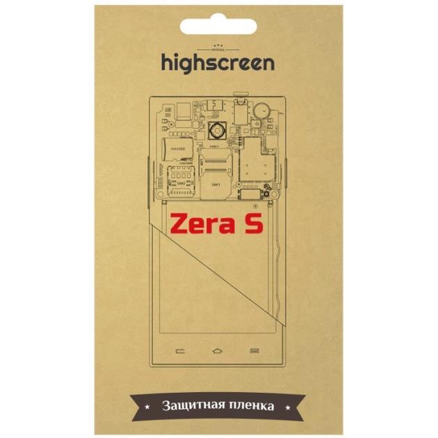 Плёнка для Highscreen Zera S матовая