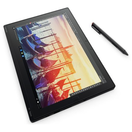 "Lenovo ThinkPad X1 Tablet, 12"", 256GB, Wi-Fi+3G/LTE, V-pro Черный, V-pro, M5 6Y57"