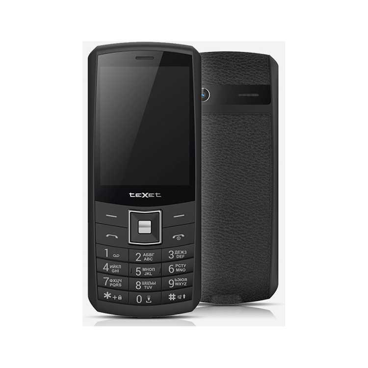 TeXet TM-D328 Черный, 0.032Гб, 2 SIM