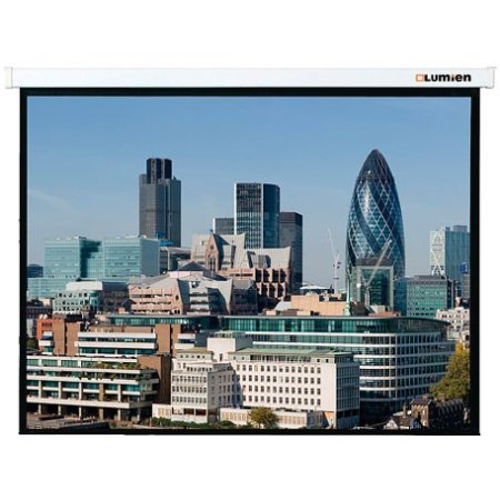 Экран Lumien 153x203см LMC-100108 4:3 настенно-потолочный рулонный белый (моторизованный привод)