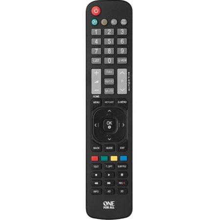 Пульт ДУ One For All URC1911 для телевизоров LG (LCD, Plasma, LED, ЭЛТ)