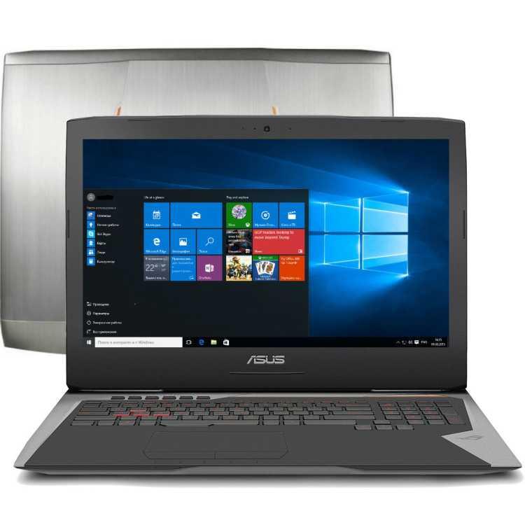 "ASUS ROG G752VS-BA228T 17.3"", Intel Core i7, 2600МГц, 8Гб RAM, 1256Гб, Серый, Windows 10"