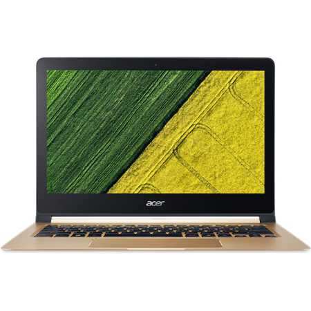 "Acer Swift 7 13.3"", Intel Core i5, 1200МГц, 8Гб RAM, DVD нет, 256Гб, Золотой, Wi-Fi, Windows 10 Домашняя, Bluetooth"