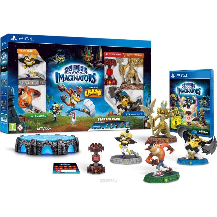 Купить Skylanders Imaginators Crash Edition PS4 в интернет магазине бытовой техники и электроники