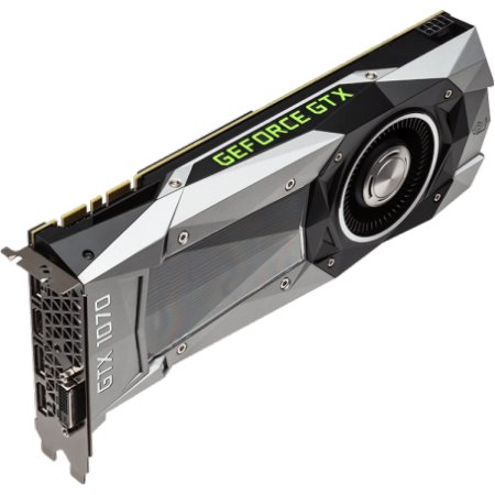 MSI NVIDIA GeForce GTX 1070 Founders 8192Мб, GDDR5, 1506MHz, PCI-Ex16 3.0, 8pin x 1