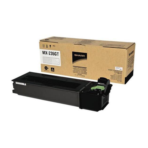 Sharp MX235GT с IC-чипом Черный, Картридж лазерный, Стандартная, нет MX-235GT