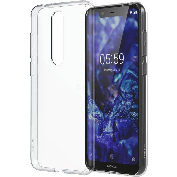 Чехол Nokia 5.1 plus Clear Case