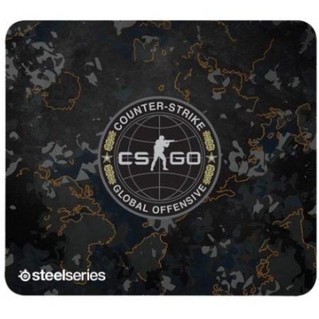 Steelseries QcK+ CS:GO Camo Edition Темно-серый, Обычный