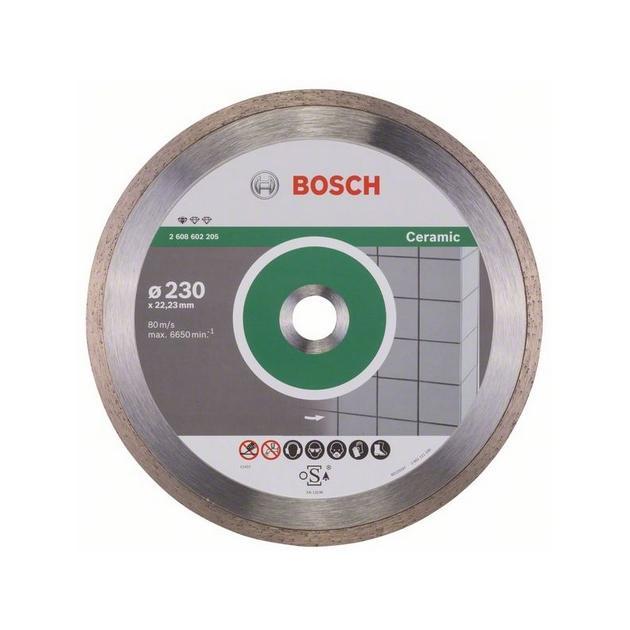 Алмазный диск по керамике Bosch Standard for Ceramic (2608602205) d=230мм d(посад.)=22.23мм (угловые шлифмашины) от Байон