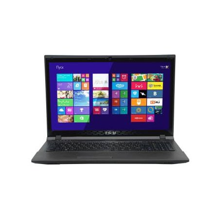 "iRu Patriot 528 15.6"", Intel Pentium, 2500МГц, 4Гб RAM, 500Гб, Черный, Wi-Fi, DOS, Bluetooth"