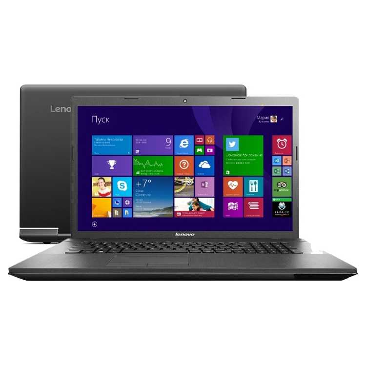 "Lenovo G710 17.3"", Intel Core i5, 2600МГц, 4Гб RAM, DVD-RW, 1Тб, Черный, Wi-Fi, Windows 8.1, Bluetooth"