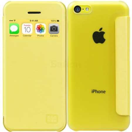 Чехол для iPhone 5С Promate Fenes5c бел.