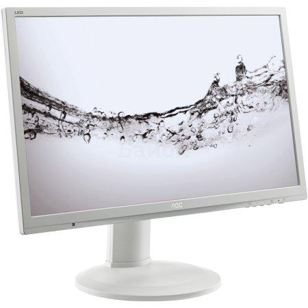 "AOC e2460Pq 24"", Белый, DVI, Full HD"